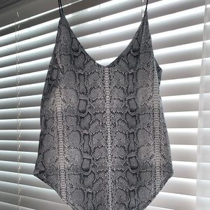 Snakeskin Body Suit